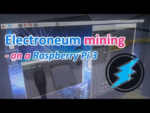 Electroneum (ETN) mining on a Raspberry Pi 3 :D