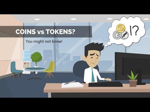 Coin vs token (Click cc for Vietnamese, English, or Japanese sub)