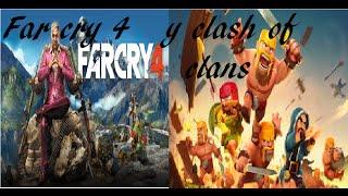 Far cry 4 y clash of clans