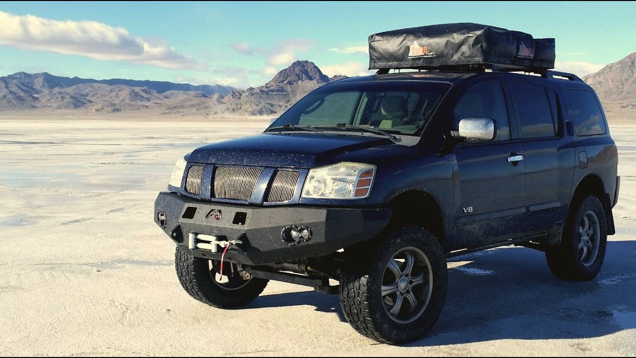 Installing Warn Winch Zeon 12: Nissan Titan/Armada - YouTube