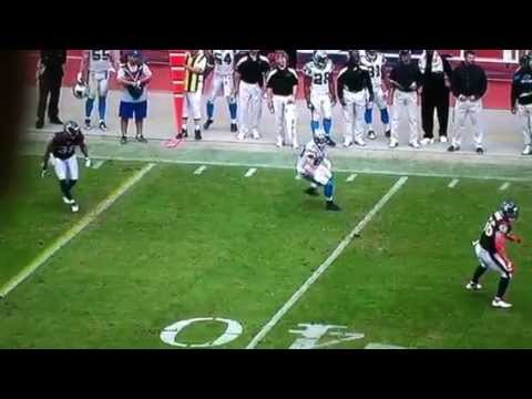 DeMeco Ryans nails Jeremy Shockey