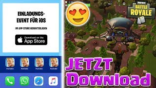 Fortnite Mobile Download and install NOW! 😍Link in description! Fortnite Mobile English