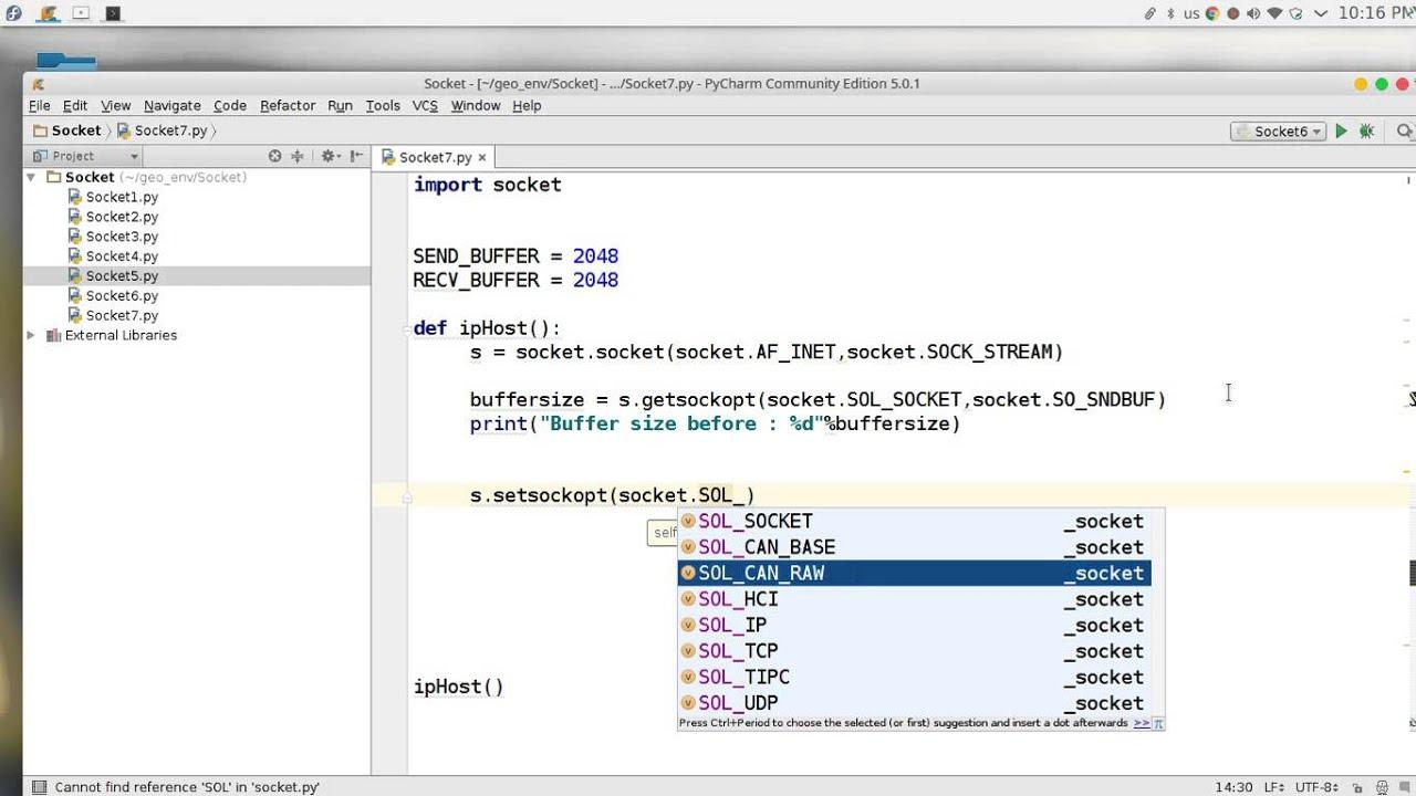 56 Python network programming Socket