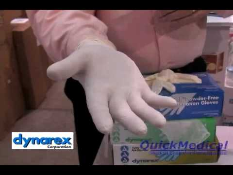 Dynarex Sterile Latex Surgical Gloves At QuickMedical.com