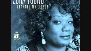 Learned my lesson-Zora Young