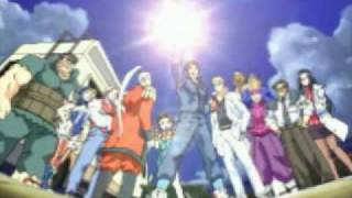 Rival Schools Intro, Ending, and Gag Reel