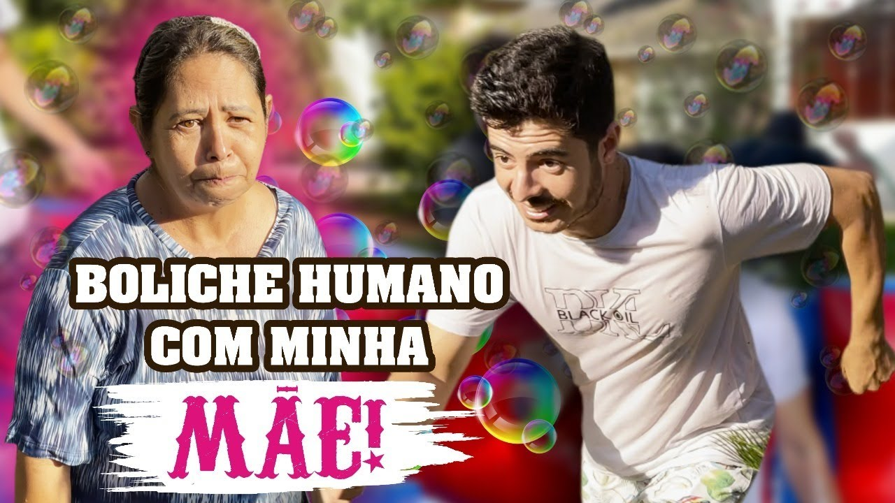 Boliche HUMANO com DONA Jaca!