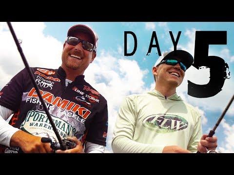 Day 5: Bryan Thrift on Lake Hamilton
