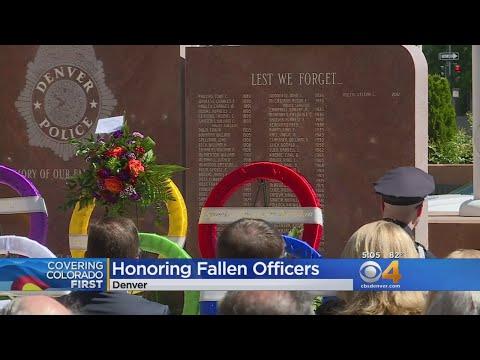Denver Police Department Honors Fallen Officers