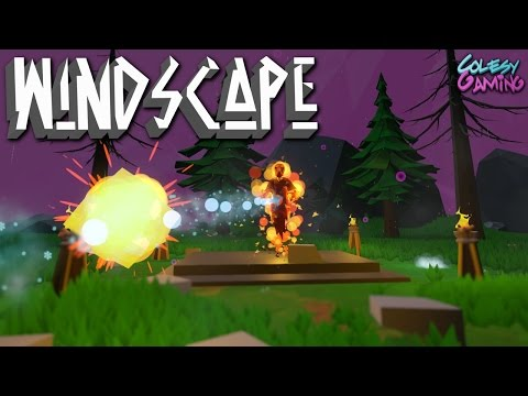 GRAVEYARD BOSS! | Windscape | Indie Game #4 |