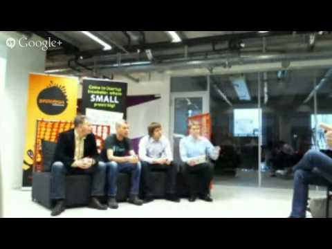 Cloud computing meetup with ITL members and Estonian start-ups