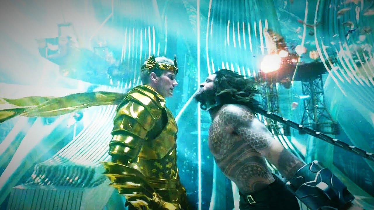 "Download Aquaman(2018):- "" Arthur meets his brother Orm"" in Hindi"