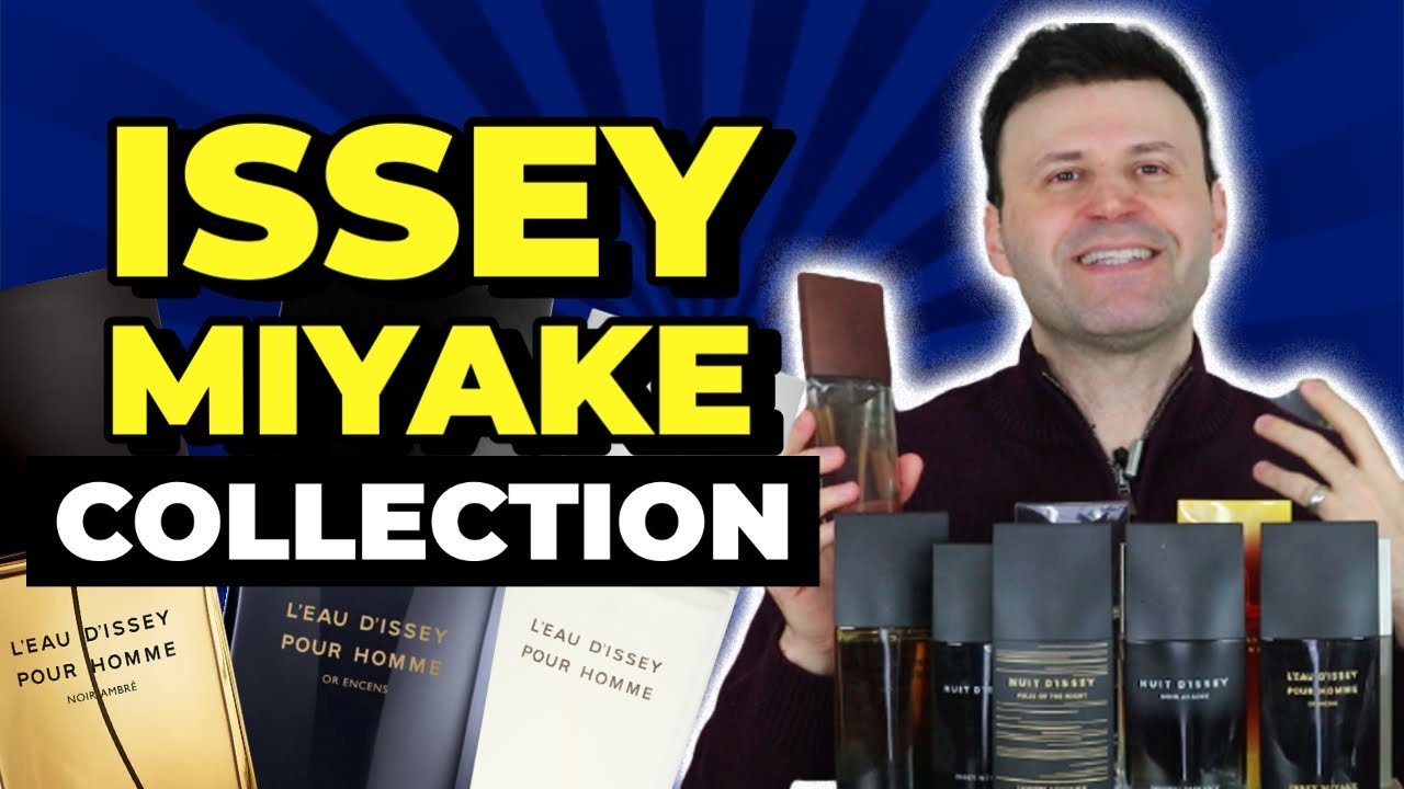 Issey Miyake Collection [ Good, Bad, Ugly, Underrated, Overrated Issey Miyake Fragrances ]