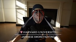 Wintersession at Harvard: Japanese Sword Fighting