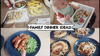 FAMILY DINNER IDEAS // BABY LED WEANING A 9 MONTH OLD! || SUMMER FOOD