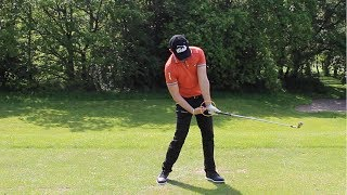 HOW TO STOP FLIPPING THE GOLF CLUB AT IMPACT (ANTI-FLIP DRILL)