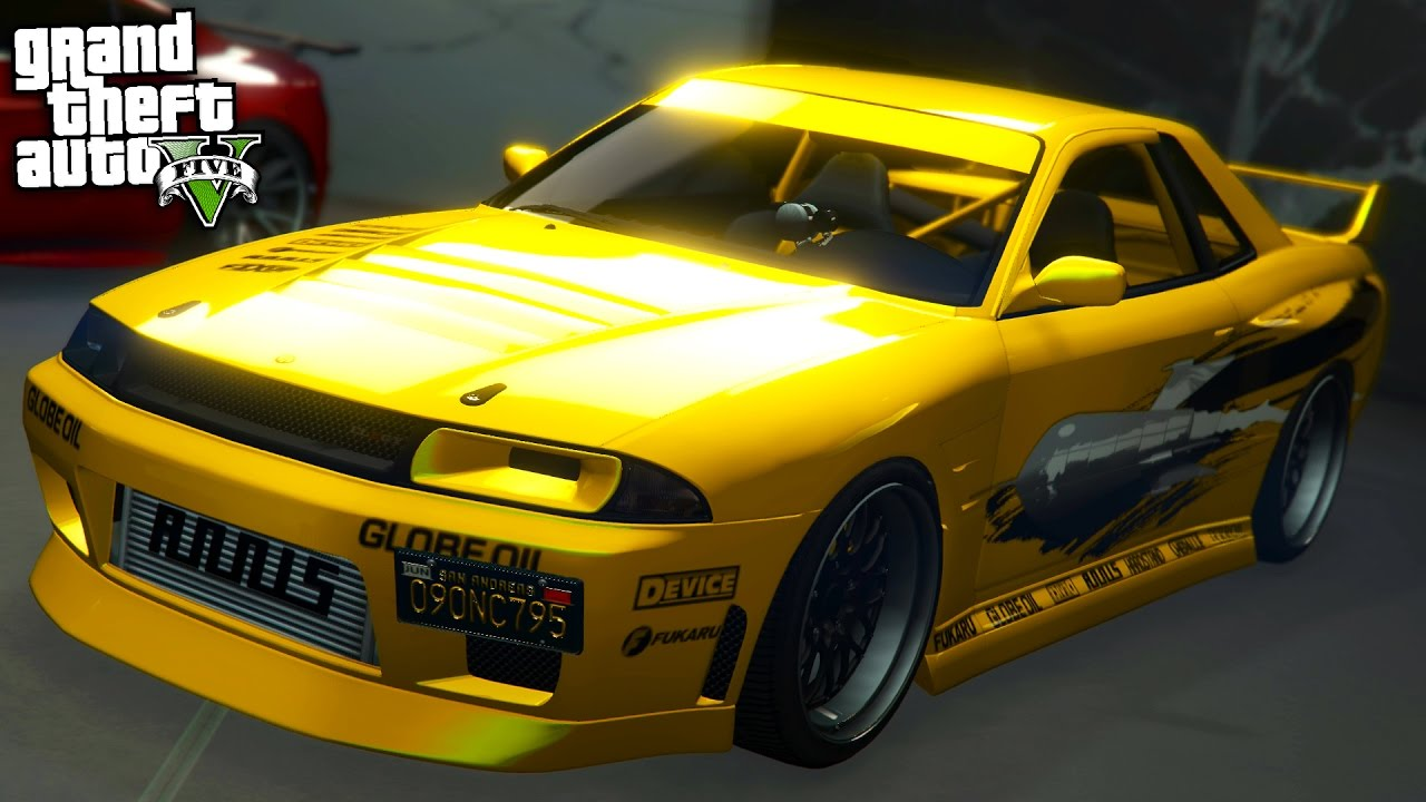 "GTA Online: The ""Other"" Fast and Furious Nissan Skyline ..."