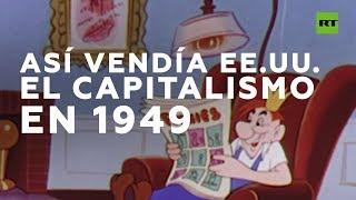 Propaganda de EE.UU. sobre su economía capitalista durante la Guerra Fría