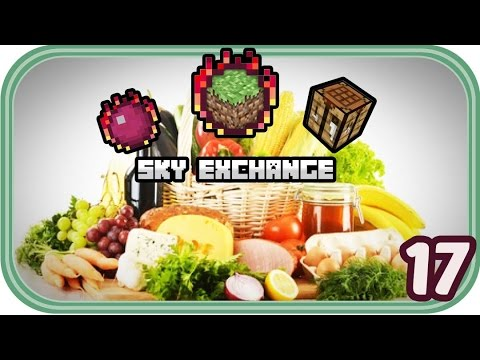 Lecker Futter - Minecraft Sky Exchange #017 - Deutsch - Chigocraft