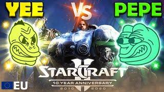 Yee vs Pepe Olympics - EU Starcraft - Event 1