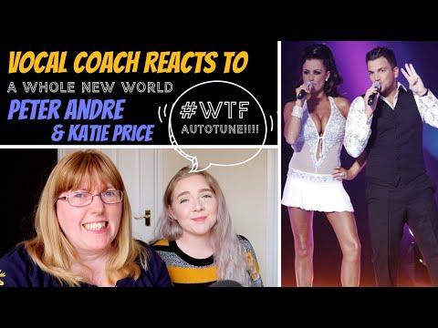 Vocal Coach Reacts to Peter Andre & Katie Price 'A Whole New World' #whatwentwrongKaynak: YouTube · Süre: 12 dakika8 saniye