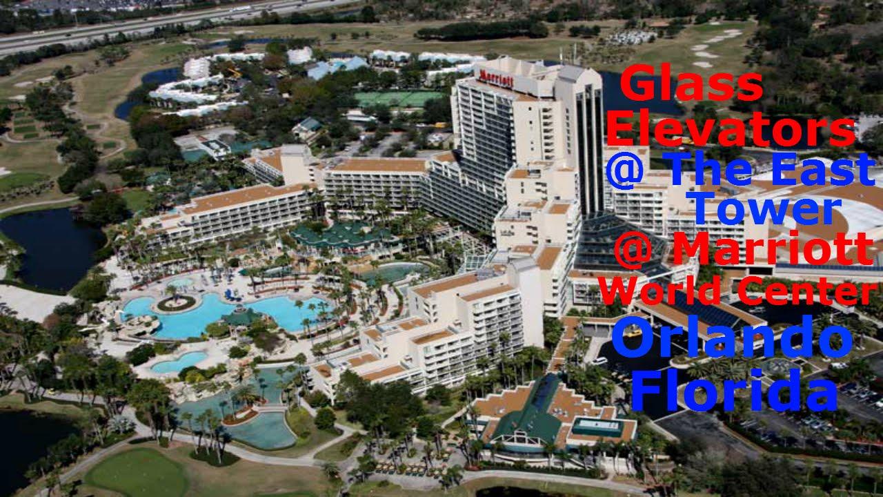 Amazing Kone Gl Elevators The East Tower Marriott World Center Orlando Fl