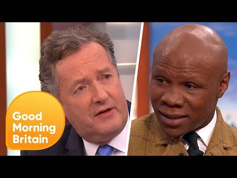 Piers Morgan and Chris Eubank Passionately Defend Boxing After Calls to Ban the Sport!   GMB