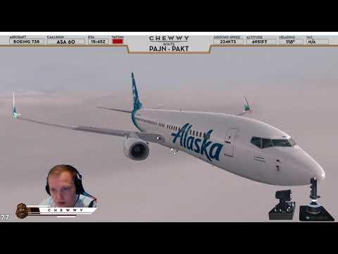 P3D v4] Ketchikan = Kreygasm | Alaskan 737-800 into
