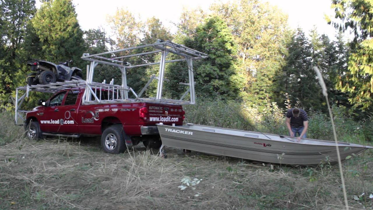 Load It Rear Boat Loader Youtube