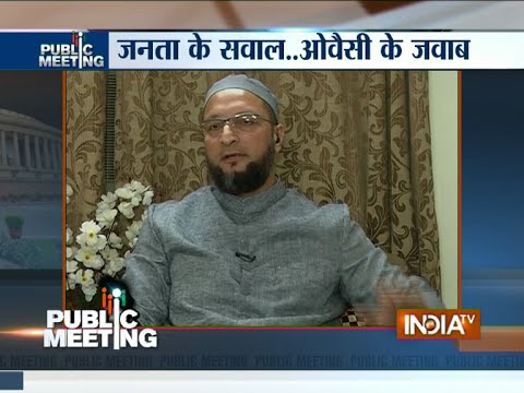 Asaduddin Owaisi: BR Ambedkar is Greater Than Mahatma Gandhi - India TV
