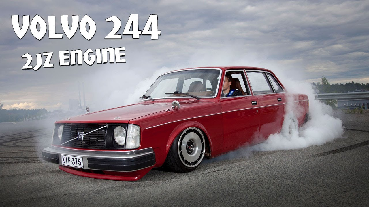 Volvo 244 2jz By Jtmedia Fi Youtube