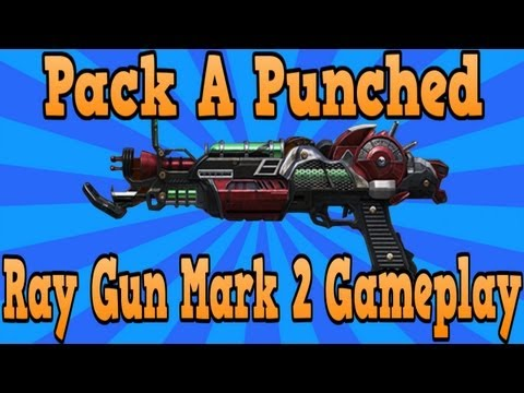 "*NEW* ""Ray Gun Mark 2 Pack A Punched Gameplay"" (""Black Ops 2 Zombies"")"