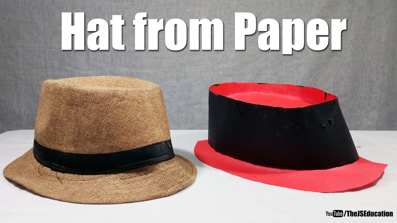 ce496cff0d8 How To Make Hat from Paper