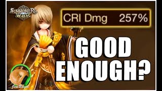 SUMMONERS WAR : Pungbaek the Wind Pioneer - After Patch Gameplay