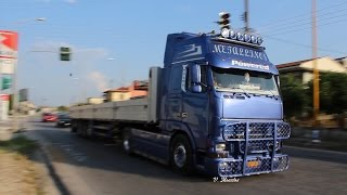 Volvo FH12 460 Metallinos Straight Pipe Sound & Smoke
