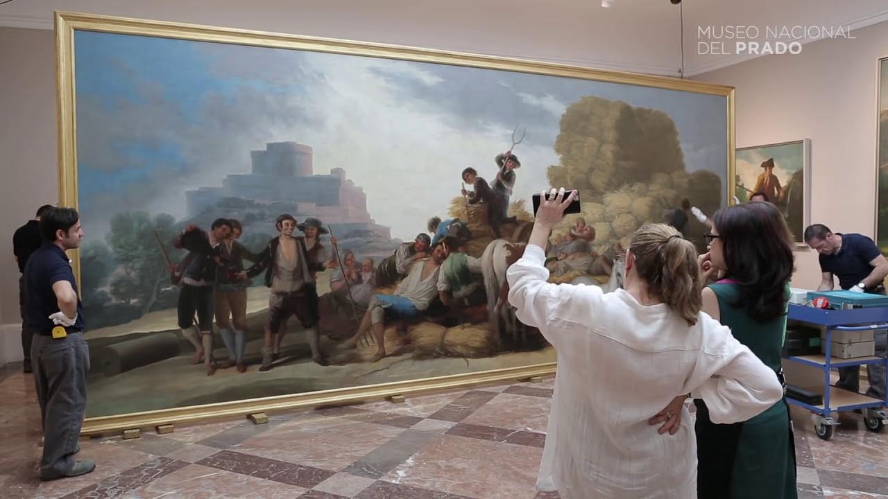 Resultado de imagen de Goya cartones Prado