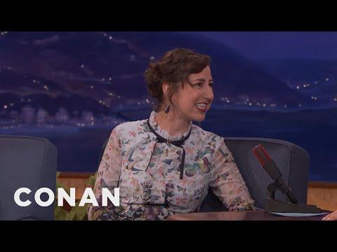 Kristen Schaal Is An Anxious Person  - CONAN on TBS