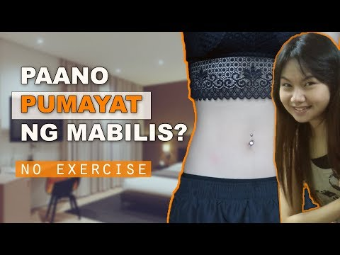 paano-pumayat-ng-mabilis-|-how-to-lose-weight-without-exercise?
