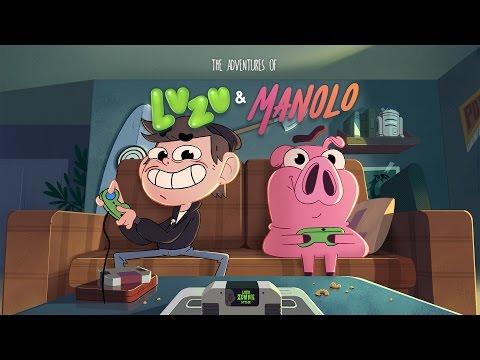 Las Aventuras de Luzu y Manolo - [LuzuGames] | Disney XD by Maker