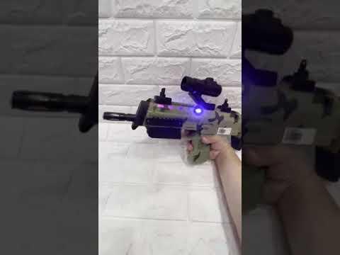 迷彩短版衝鋒聲光玩具槍(113-1998-01)