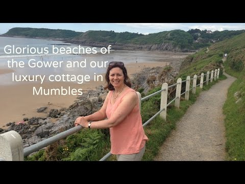 Glorious beaches of the Gower and our luxury cottage in Mumbles