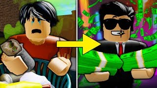 Poor To Rich: Betrayed by His Friend ( A Sad Roblox Bloxburg Movie Part 8)