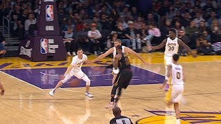 LeBron James Gets Fancy In Los Angeles! 3 Great Passes!