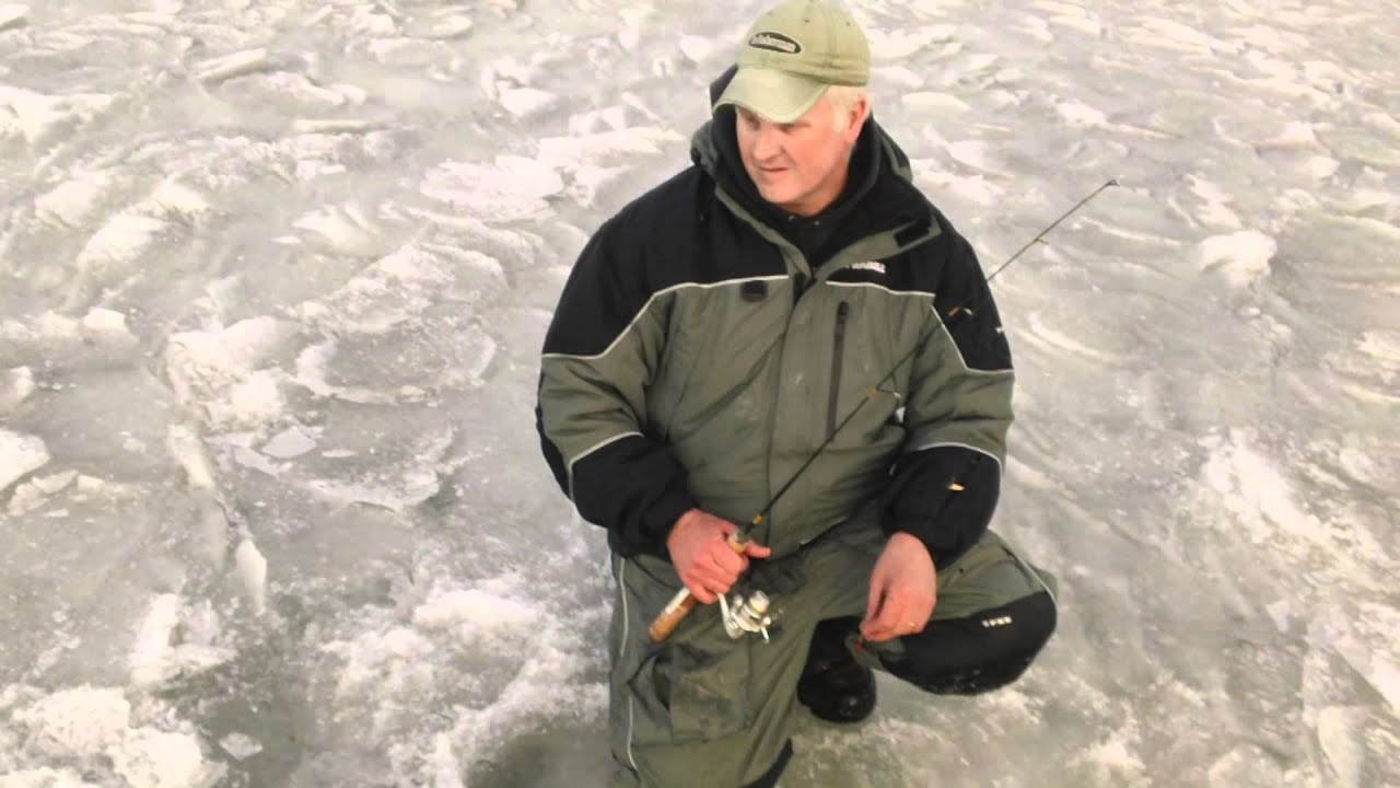 Door County Ice Fish Green Bay Guided First Ice Whitefish