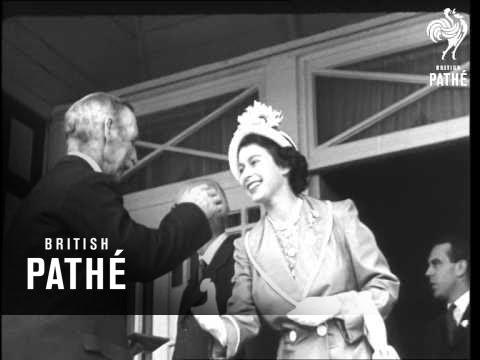 Princess And Duke At 'shrewsbury Show'  (1949)