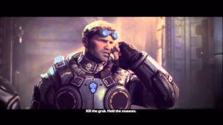 Gears of War: Judgment - Vaults: General Karn & Shibboleth Intro Scene, They Called Him Karn X360
