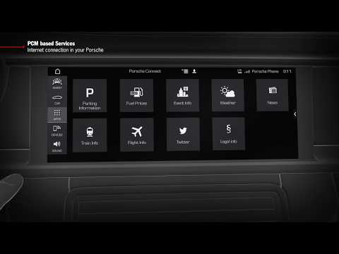 """How to Video Panamera (G2)  """"PCM based Services - Internet Connection in your Porsche"""""""