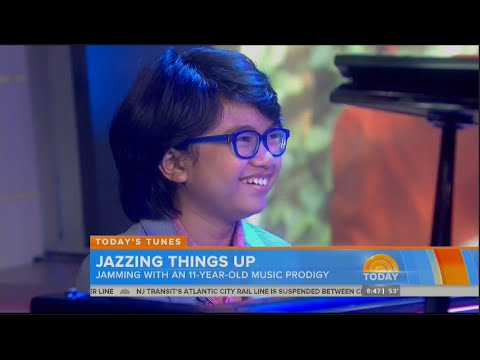Joey Alexander on the Today Show