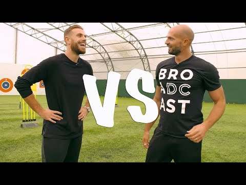 FOOTBALL CHALLENGES VS JORDAN HENDERSON