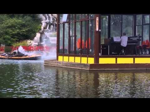 Scarborough peasholm park naval battle